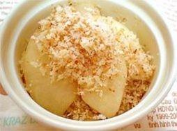 りんごのパン粉クランブル