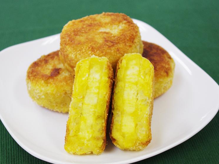 さつま芋のお焼きコロッケ