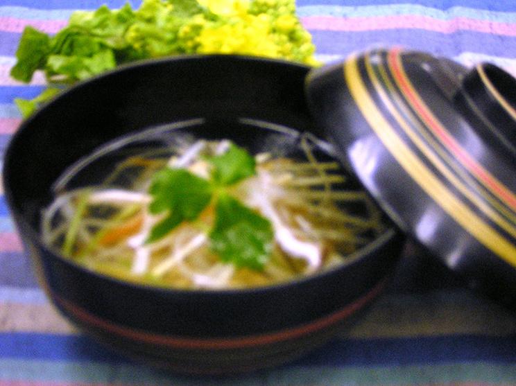春野菜の沢煮風
