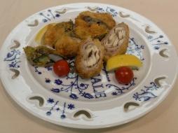 野菜のポーク&エビ巻きフライ